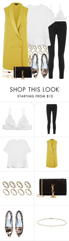 """Sin título #4056"" by hellomissapple on Polyvore featuring moda, Monki, Acne Studios, Victoria, Victoria Beckham, Topshop, ALDO, Yves Saint Laurent, Minor Obsessions, CO y Burberry"