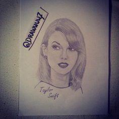 Taylor Swift drawing!!! I LOVE IT!!!