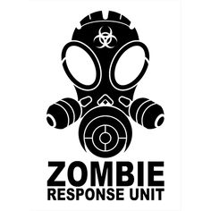 Zombie Response Unit Die Cut Vinyl Decal PV536