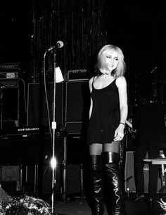Deborah Harry.  Before Madonna,she and Blondie rocked this world with her iconic fashion and kick-ass vocals. Born in Miami,Florida.