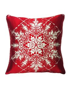 """""""Holiday Elegance"""" Decorative Pillow is on Rue. Shop it now."""