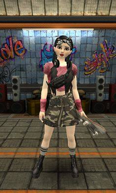 Girly M, Avakin Life, Skate, How To Take Photos, Ems, Punk, Lifestyle, Female, Pretty