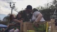 """Katelyn Serio and Bobby Harvey, both 26, of Lacombe, Louisiana, learned they're expecting a boy at the Krewe of Thoth parade on Feb. 26. While riding on a float, Serio's stepdad, Rodney Dupuis Jr., and his best friend, Ron Messa, announced the baby's sex by releasing blue confetti. """"It's a fun idea when you think of it but when you actually get to the parade route and see the masses of people you have to get through to get to the front it becomes nerve-wracking!"""" Serio ..."""