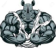 Resultado de imagen de cartoon version bodybuilder