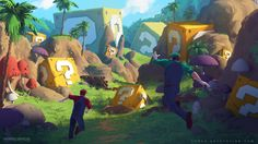 Mario Bros : The Lost World concept art by Tohad on DeviantArt