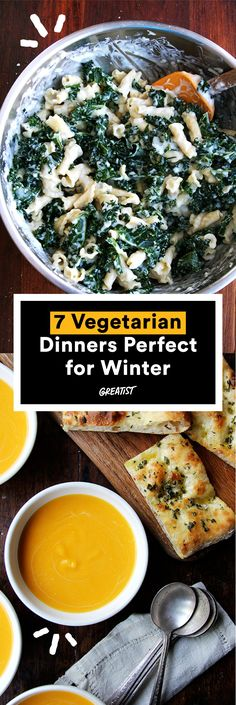 Get those forks ready. #vegetarian #dinner #recipes http://greatist.com/eat/healthy-dinner-recipes-for-vegetarians