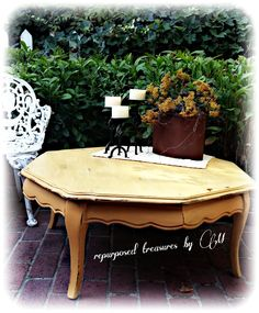 Upcycled vintage shabby chic country cottage by RepurposedbyM, $95.00