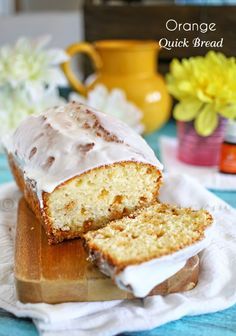 Orange Quick Bread : Essential Oils - Cooking with essential oils makes it easy to add great flavors to your food. Like this simple & easy Orange Quick Bread. Essential oil replaces orange zest in this recipe & gives a fabulous orange flavor. on kleinworthco.com