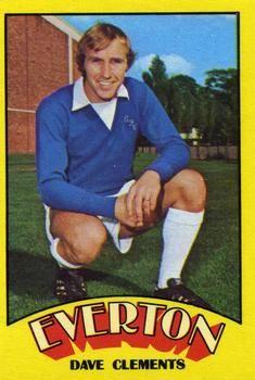 1974-75 A&BC Gum #31 Dave Clements Front