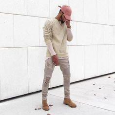 """2,466 Likes, 151 Comments - R I C H E S (@ryriches) on Instagram: """"Essentials beige jumper courtesy of @manieredevoir ✔️ you can also pick up the suede rose hat and…"""""""