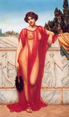 The Athenaeum - Athenais (John William Godward - )