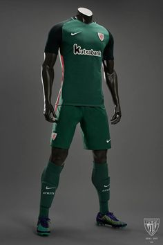 Camisas do Athletic Club Bilbao 2016-2017 Nike Reserva kit