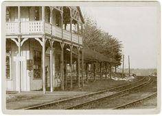 Watkins Glen station Watkins Glen, Railroad Tracks, Train Tracks