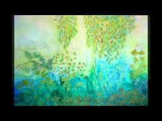 Step by step tutorial: Intuitive semi abstract landscape with acrylics on canvas - ARTiful: painting demos