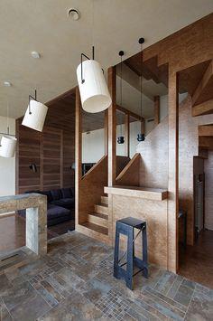 Urban and Unique Apartment Interior Design // Petr Kostelov   Afflante.com