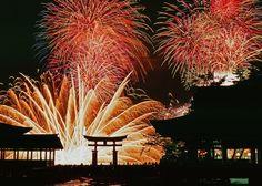宮島水中花火大会〈広島県 / 日本 〉Miyajima Fireworks display〈 Hiroshima / Japan 〉