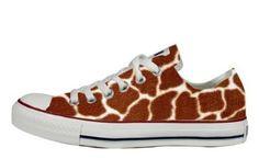 06fd19d4b9c8 Converse All Star shoes customized Slim Giraffa