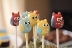 owl themed baby shower from JoAnne Howell Wuneburger