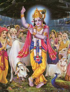 Krishna Print Forty-six Señor Krishna, Yashoda Krishna, Krishna Lila, Cute Krishna, Radha Krishna Images, Lord Krishna Images, Radha Krishna Photo, Krishna Pictures, Flute Drawing