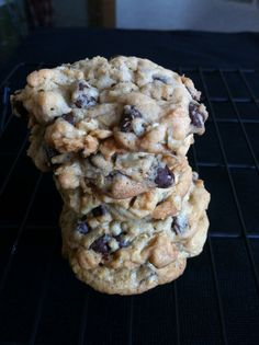 Mouth Watering Oatmeal Chocolate Chip Cookies!