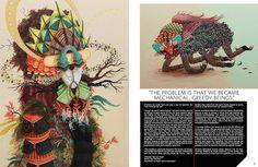 Article about sketchbooks of illustrator Femke Hiemstra 9803012255_66eb5d9cef_z