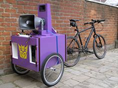 How to make a trailer mounted bike sound system by TheOnlyShasta9