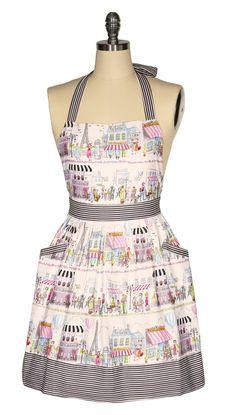 La Petite Boutique Apron and Oven Mitts – Kitten D'Amour La Petite Boutique, Lazy, Apron, Women Accessories, Most Beautiful, Cotton Fabric, Kittens, Oven, French