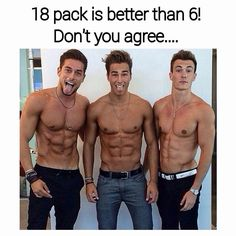 18 pack is better than a 6 pack!!!!