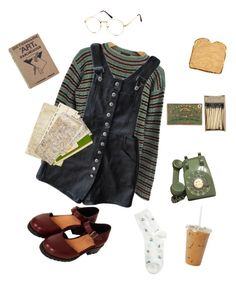 """""""Waiting for you to call"""" by ohwellitriedx on Polyvore featuring Prada and Topshop"""