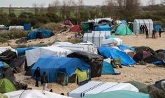 A photo taken on November 12, 2015 shows a view of part of the 'New Jungle' migrant camp in Calais. Clashes broke out between police and migrants living in temporary camps near the northern French port of Calais on November 10 for a third night running. AFP PHOTO / DENIS CHARLET (Photo credit should read DENIS CHARLET/AFP/Getty Images)