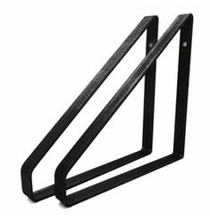 Stoer Metaal shelf supports metal color, 21 or 31 cm Metal Shelves, Shelf Brackets, Shelf Holders, Iron Shelf, Shelf Supports, Cabin Interiors, Industrial House, Cool Rooms, Kidsroom