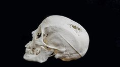 This mummy's skull was recreated via 3D printer