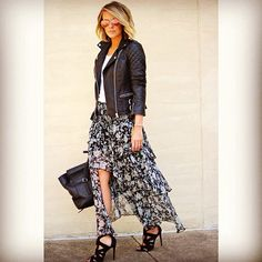 I love, love, love this skirt -- want! -- and I like the jacket style too -- but maybe without the quilting?? It's growing on me.