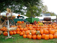 Parke County Indiana in Autumn at the Covered Bridge Festival