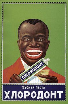 toothpaste ad - racist