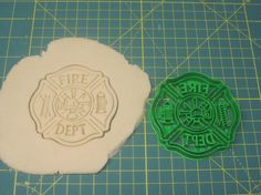 Firefighter Maltese Cross Cookie Cutter by Francesca4me on Etsy