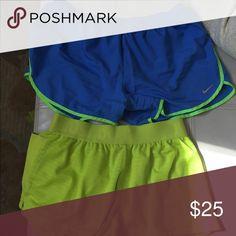 Nike bundle of shorts Size medium gently used no stains or holes Nike Shorts