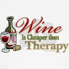 and that's why they call it wine therapy night ladies!!!