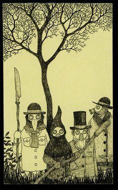 John kenn - Illustration - Monster