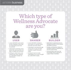Structuring Users, Sharers, and Builders | dōTERRA Business Blog