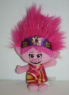 Yellow Dress, Pink Yellow, Poppy Doll, Glitter Hair, Southern Belle, Plush Dolls, Beautiful Dolls, Troll, Princess Peach