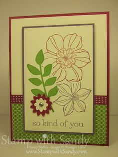Stamp With Sandy: So Kind of You, Stampin' Up
