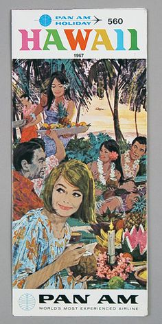 1967 Hawaii Brochure cover.