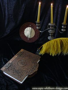 Book of Shadows / Grimoire / Journal / Spell by BookOfShadowsStore, $225.00