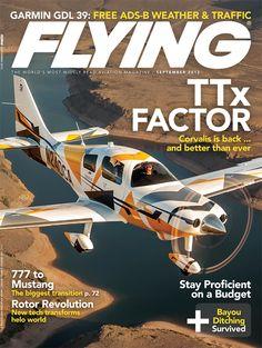 Flying Magazine September 2012 Cover