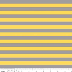 Riley Blake Designs -apparel knit fabric Knit Basics - Small Stripe Knit in Gray and Yellow; Pattern Paper, Fabric Patterns, Sewing Patterns, Grey Yellow, Gray, Riley Blake, Modern Fabric, Striped Knit, Applique Designs