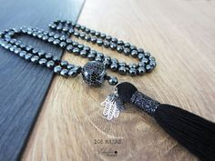 Hey, I found this really awesome Etsy listing at https://www.etsy.com/listing/272794580/hematite-mala-beads-mala-necklace-108