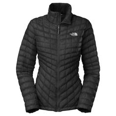 The North Face Women's Black Full Zip Thermoball Jacket