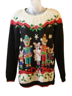 Teddy Bear Band Family | Ugly Christmas Sweaters For Sale
