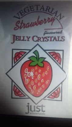 Just Wholefoods Vegetarian Strawberry Jelly Crystals Gelatine Vegan for sale online Newport Isle Of Wight, Jelly Crystals, Strawberry Jelly, Egg Free, Free Delivery, Whole Food Recipes, Dairy Free, Vegetarian, Vegan